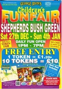Funfair poster