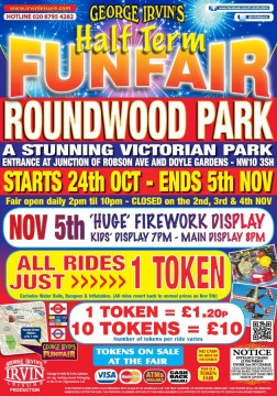 firwoork and funfair poster
